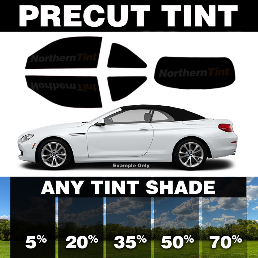 PreCut Window Film for VW Beetle 98-10 Front Doors any Tint Shade