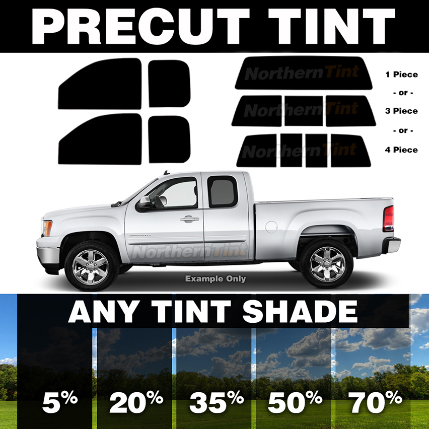 Precut Window Tint for Dodge Ram 1500 Ext.//Quad Cab 09-10 Front Doors